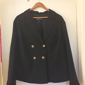Who what wear black blazer like jacket